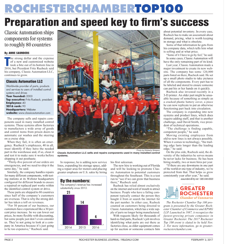 Preparation and speed key to firm's success