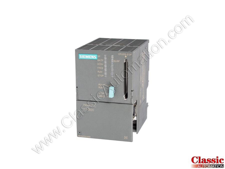 Siemens 6ES7315 2AF03 0AB0 Used Repaired CPU 315 2DP