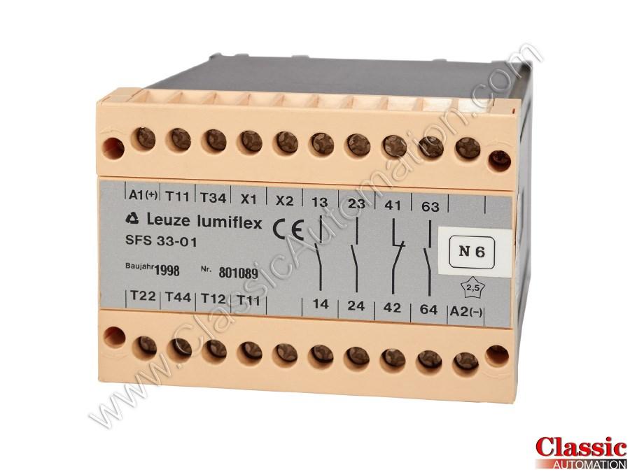 Leuze lumiflex sfs 33-01