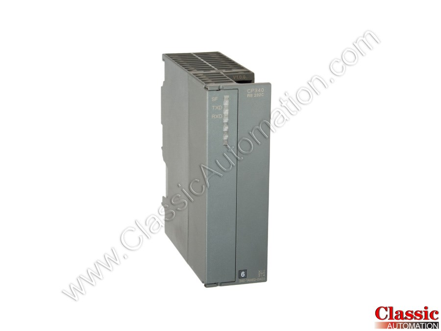 Siemens 6ES7-340-1AH02-0AE0 Simatic S7 Serial Communication Module CP340 RS-232C