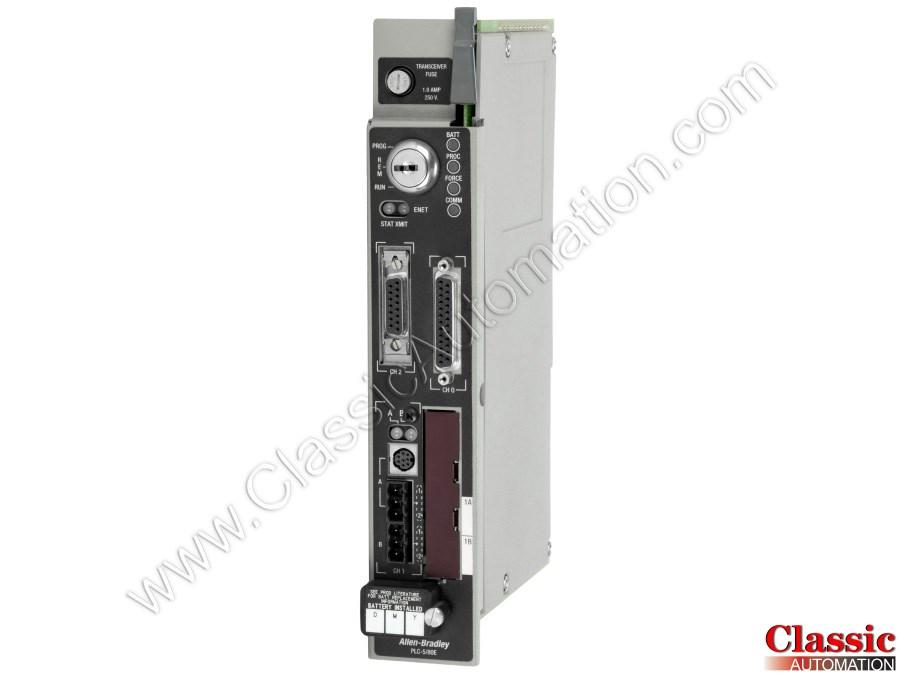 Allen-Bradley   1785-L80E/E   Used & Repaired   EtherNet/IP PLC-5