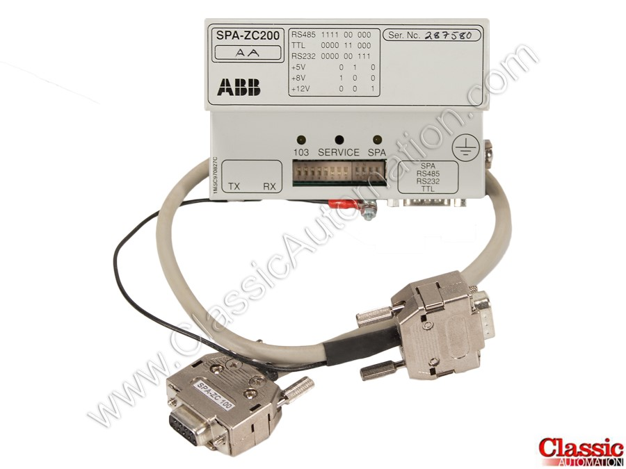 ABB SPA-ZC200 Refurbished & Repairs