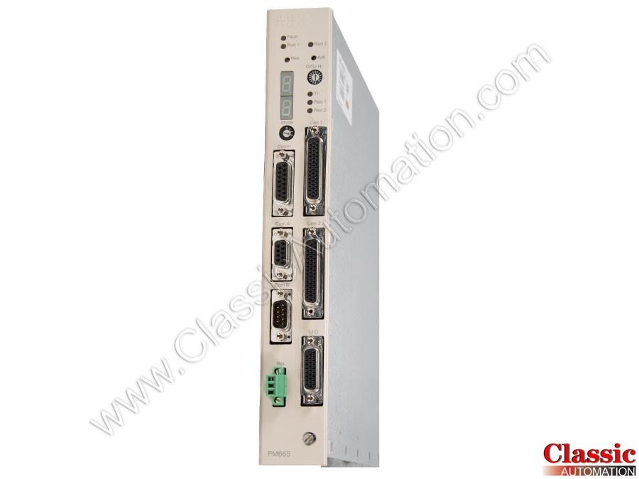 ABB | PM665 | Used & Repaired | PM665 Processor Module