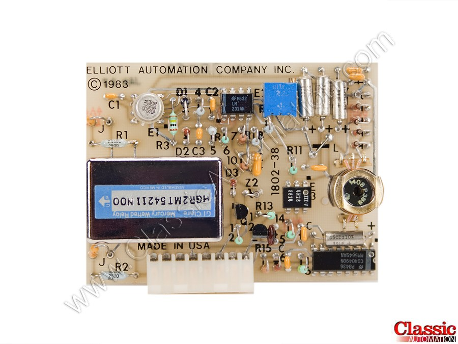 Elliot Automation 1802-38 Refurbished & Repairs