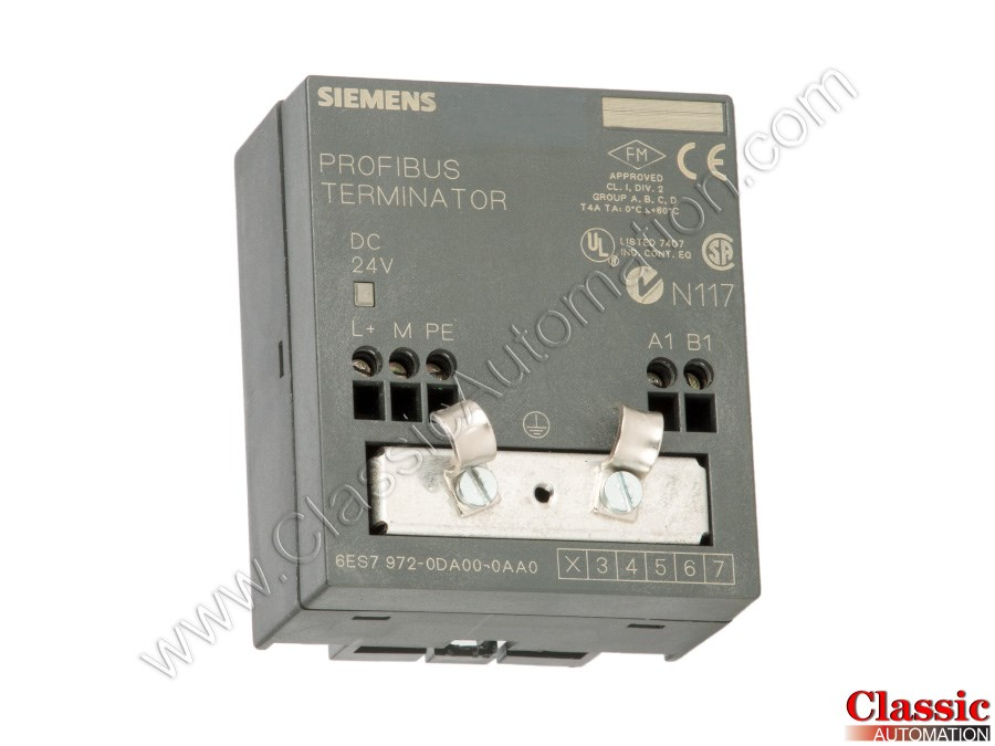 TERMINATOR 6ES7 972-0DA00-0AA0 SIEMENS RS485