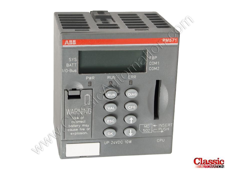 ABB | 1SAP130100R0100 | Used & Repaired | PM571 MICRO CPU 64KB