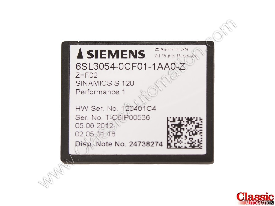 Siemens 6SL3054-0CF01-1AA0-Z Refurbished & Repairs
