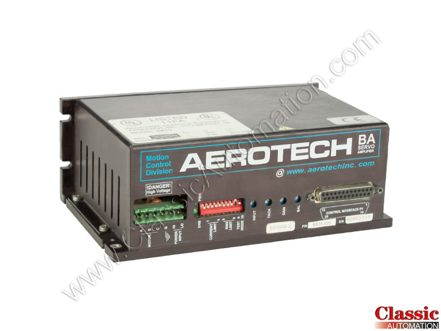 Aerotech BA10-320 Refurbished & Repairs