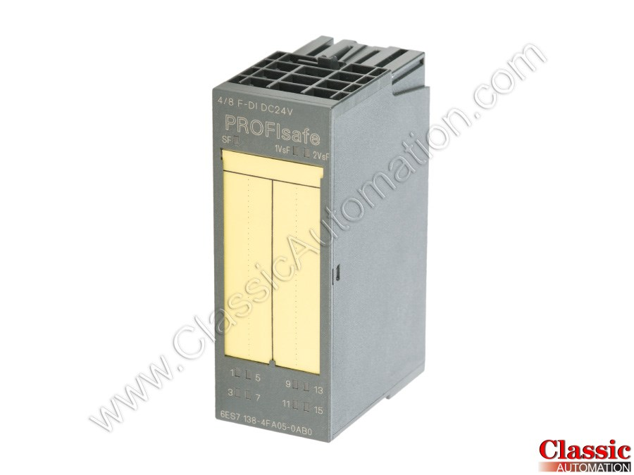 Siemens Simatic S7 6ES7138-4FA05-0AB0 ET200S Profisafe
