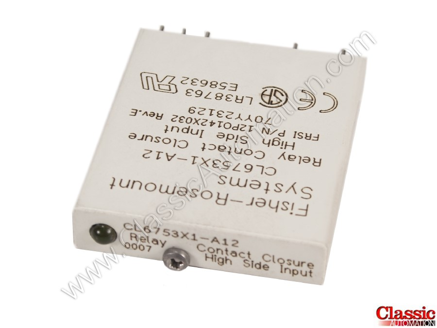 Fisher, Rosemount | CL6753X1-A12 | Used & Repaired | Relay Input Module