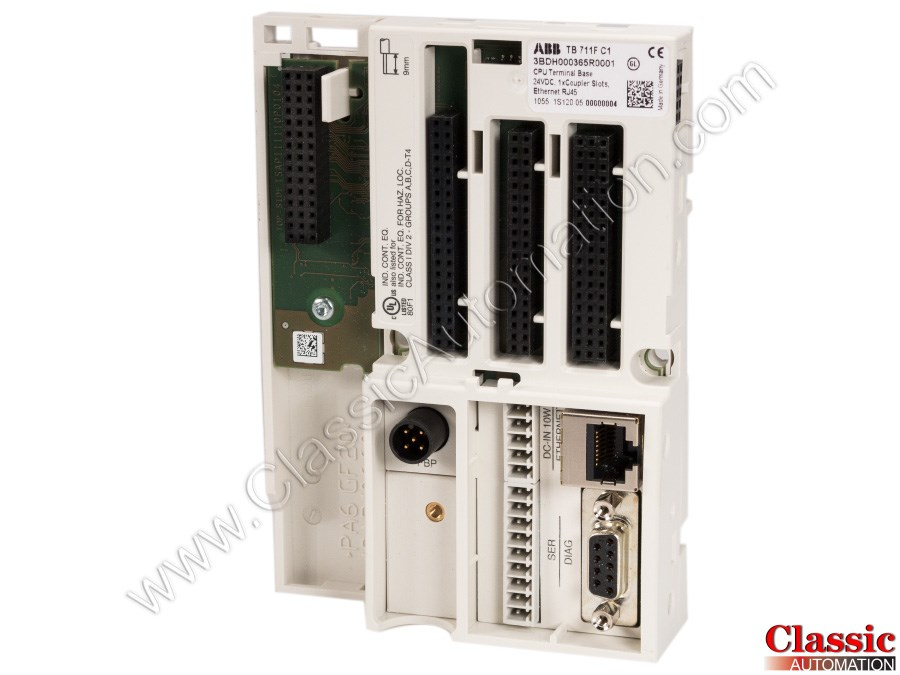 ABB | TB711F | Used & Repaired | CPU Terminal Base