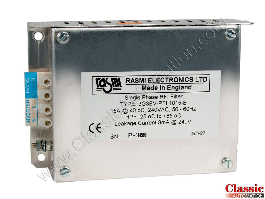Omron, Rasmi Electronics 3G3EV-PFI 1015-E Refurbished & Repairs