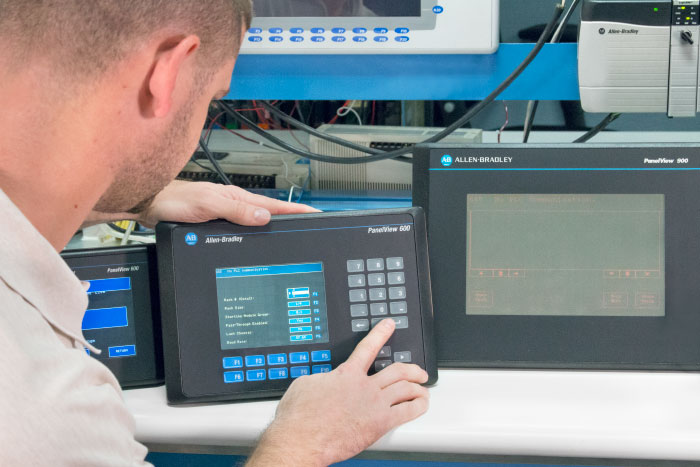 Allen-Bradley PanelView 600 refurbished parts & repair | 2